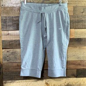Gray Nike Capri sweat pants XL